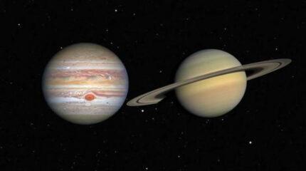 करिब ४ सय वर्षपछि बृहस्पति र शनि ग्रह एकआपासमा धेरै नजिक देखिए
