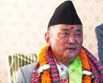 देश निर्वाचनमा गइसक्यो, जनतामा जान  डराउनुहुन्नँ : मन्त्री नेम्वाङ